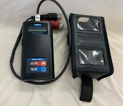 Midtronics Digital Cellbattery Analyzer With Case Cords