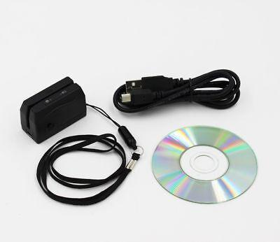 Minidx3 V2017 Portable Magnetic Card Reader Data Collector Mini Dx3 Credit Track