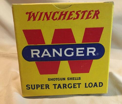 EMPTY Vintage Winchester Ranger Super Target Loads Shotgun Shell Box 12ga Trap