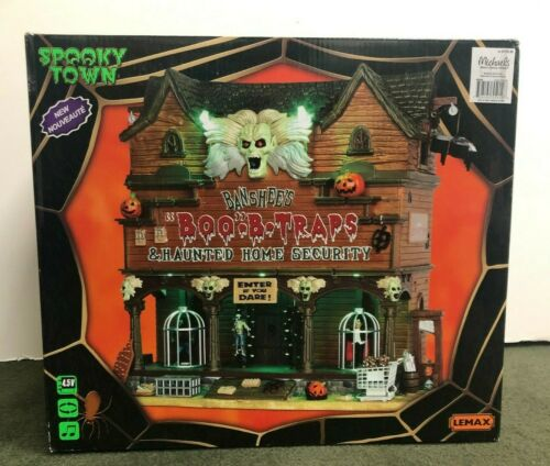 Lemax Spooky Town Banshee's Boo-B-Traps Halloween  #55912 2015  BRAND NEW IN BOX