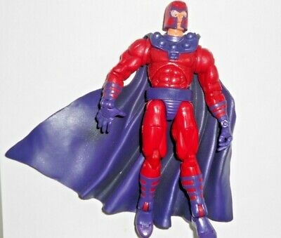 TOYBIZ Marvel Legends 2003 Series III 3 MAGNETO w/ Helmet. NO BASE LOOSE