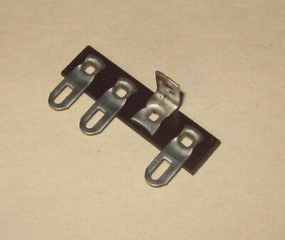 Terminal Strip 3 Lug Pole Phenolic With Solder Lugs Ungrounded