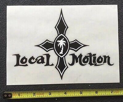 1 Vintage Local Motion Sticker