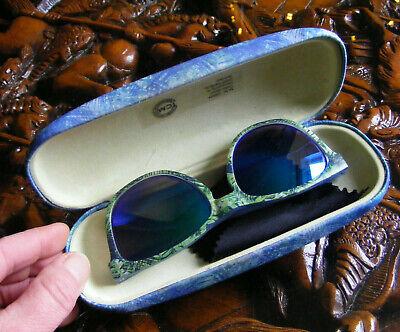 Sonnenbrille für kleine Mädchen von Tchibo - Grün Blau mit Etui