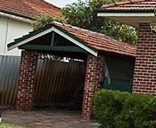 Carport roof - Free - Timber & clay tiles Bedford Bayswater Area Preview