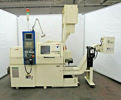 Tsugami Be18 Swiss Screw Machine Cnc Lathe Id L-063