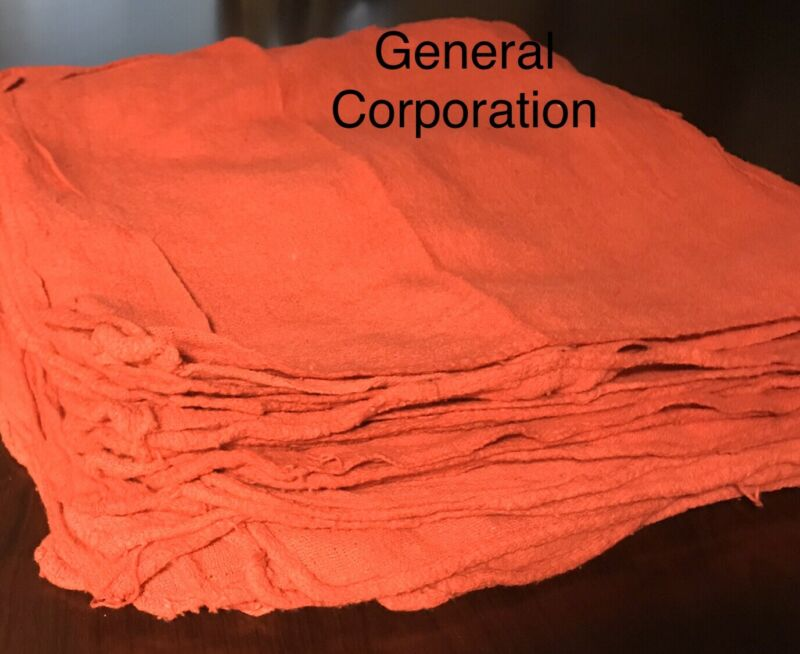 1000 new wiping red shop rags towels mechanics priority rags large 14x13