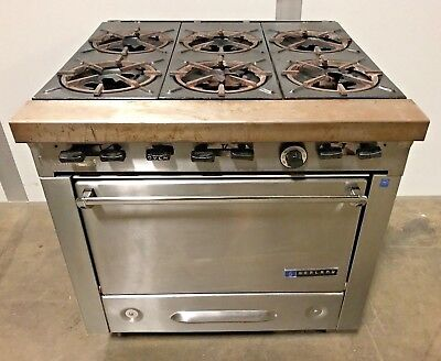 Garland 6-burner Gas 34 Range Stove Top With Oven