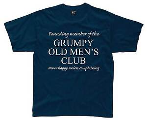 GRUMPY-OLD-MENS-CLUB-Mens-T-Shirt-S-3XL-Funny-Printed-Joke-Git-Dad-Fathers-Day