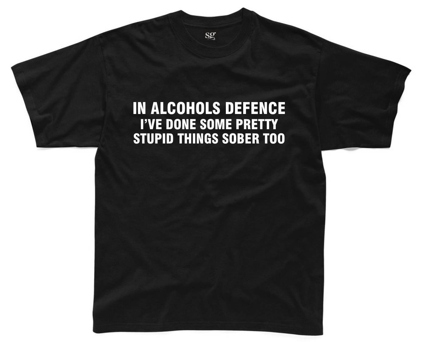 Sometimes Alcohol Is The Answer Mens T Shirt Top Funny Joke Slogan Printed S-3XL