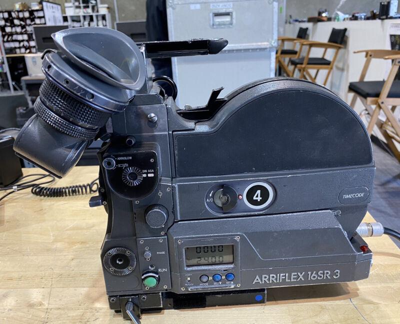 Arriflex Sr3 Super 16 Camera Package Clean & Serviced
