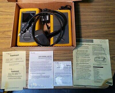 Fluke Dsp-4000 Analyzer Dsp-4000sr Remote W Dsp-lia101 Adapter For Parts