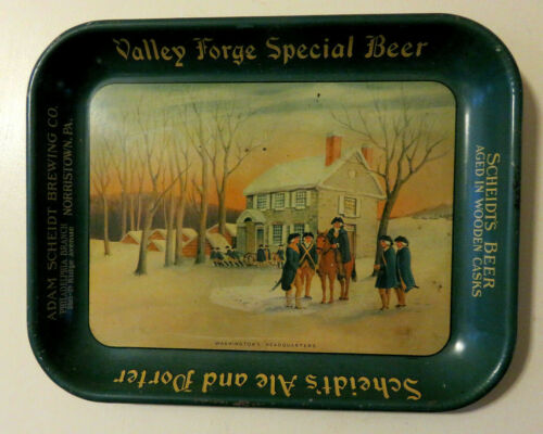 ADAM SCHEIDT Brewing Valley Forge Beer George Washington