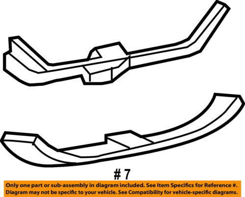 ford oem interior rear sill molding 1w7z5411318aaa ebay 1955 Ford Fairlane Colors seller payment information
