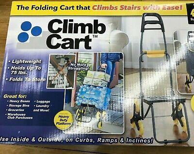 Original As Seen on TV The Climb Cart Includes Bag Bungee Cord Folds Flat (Shopping Cart Bags As Seen On Tv)