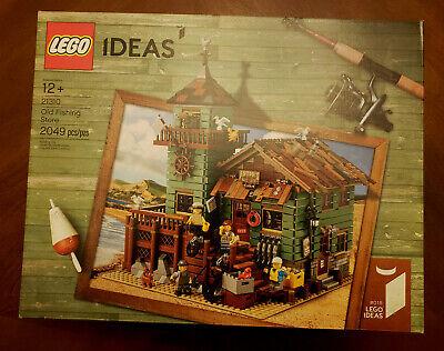 LEGO Ideas Old Fishing Store # 21310 / Year 2017 / 2049 pcs.New, Factory Sealed!