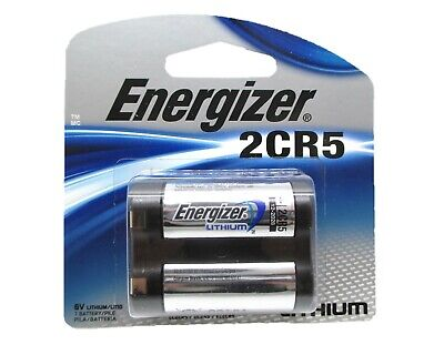 1 Energizer 2CR5 Photo Lithium Battery 6.0 Volts CAMERA DL245 KL2CR5 EXP 2028 Lithium Photo Camera Battery