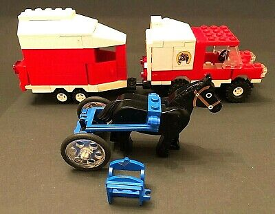 Vintage LEGO Town Classic Horse Trailer Set (6359) 1980's