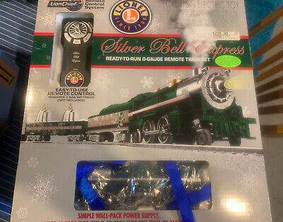 Lionel 6-30205 Silver Bell Express Christmas Holiday Train Set