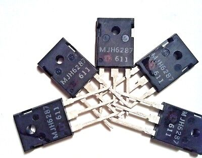 MJ15012 Complementary PNP Power Transistor 10A LOT OF 2 250V