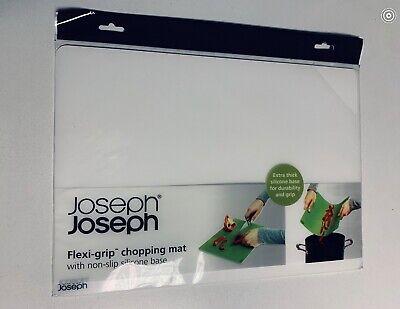 Joseph Joseph FlexiGrip Silicone Chopping Mat - White 92101. WHITE WHITE WHITE