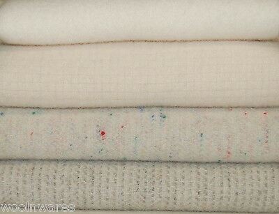 """HAND DYED RUG HOOKING WOOL Mill-Dyed ~ """"PURE as the DRIVEN SNOW"""""""