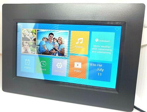 "Aluratek 7"" WiFi Digital Photo Frame with Touchscreen IPS Display, 8GB"