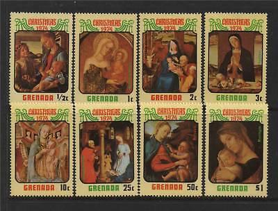 Grenada 1974 Christmas SG 640/7 MNH