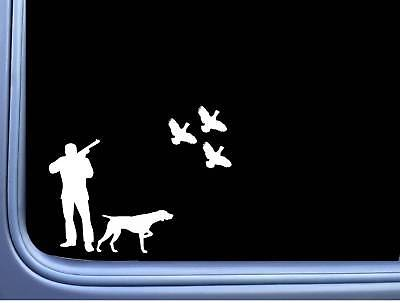 Quail Hunter German Shorthaired Pointer J869 8 inch Sticker dog Decal for sale  Shipping to India