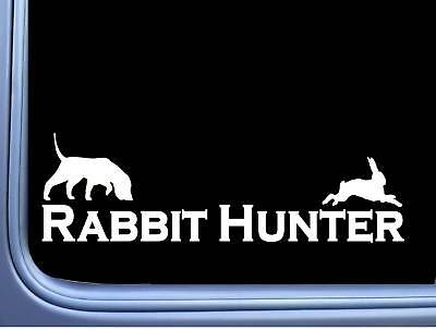 House And Home Decor Rabbit Hunter Beagle J901 8 Inch Decal Hunting Dog Box Vest Home Decorators Software