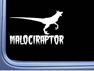 Malociraptor M393 8 inch Sticker Belgian Malinois Decal schutzhund maligator segunda mano  Embacar hacia Argentina