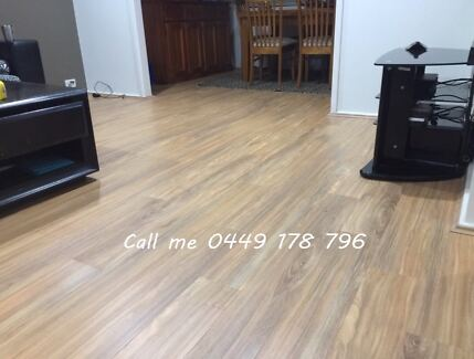 Laminate, Bamboo & Solid Timber Floor (Stairs)& Vinyl Supply& Install