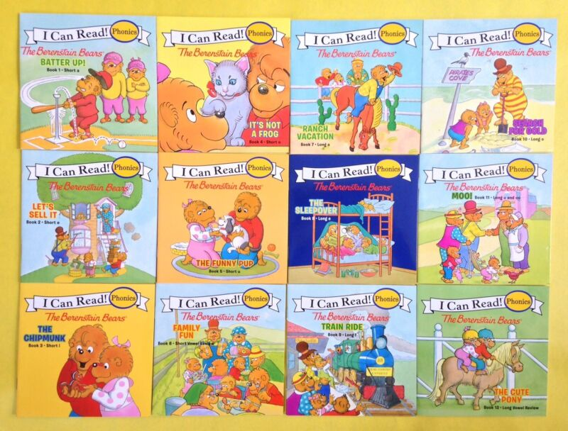 Berenstain Bears Phonics Fun Childrens Books Learn to Read I Can Read Lot 12