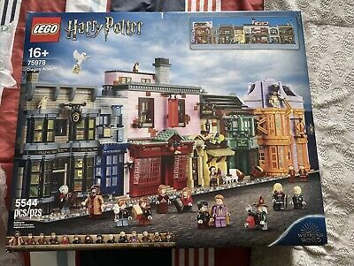 LEGO HARRY POTTER 75978 DIAGON ALLEY 2020 SEALED NEW IN BOX