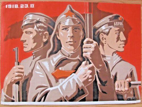 Vintage Soviet LATVIA Poster, 1977 very rare, 100% original