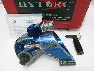 Hytorc Hy-3mxt Hydraulic Torque Wrench 1 Drive Mxt-3 - W 18-2019 Nist Cal Cert