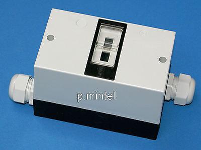ISKRA/Ernst Motorschutzschalter-Gehäuse für MS25+ 2xKabelverschraubung IP55