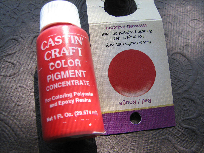 Castin craft color pigment - Dye Colorant Tint Resin Epoxy 30ml Opaque Transparent