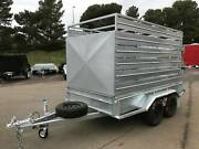 10x5 Heavy Duty Cattle Crate Tandem Trailer Salisbury Area Preview