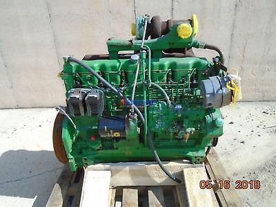 John Deere 6.404t Engine Complete Running B- Esn 521988rg Mdn 6404th01