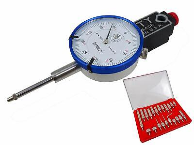 Mighty Mag Westhoff 400-1 Base With Dial Indicator And 22 Pc Indicator Anvil Set