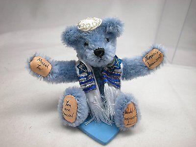 "World of Miniature Bears 3"" Mohair Bear MazelTov #989B Collectible Bear"