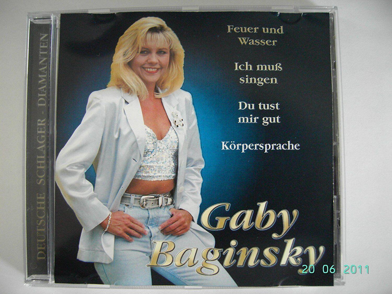 Nackt gaby baginsky German schlager