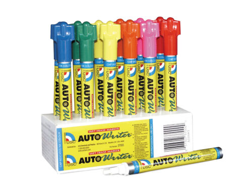 Autowriter Markers Assorted Writing Pens Erasable USC 12 Markers 37000