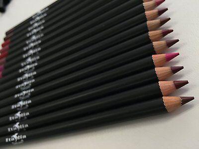 12pc Italia Deluxe Ultra Fine Lip Liner set of 12 color #1031-1051