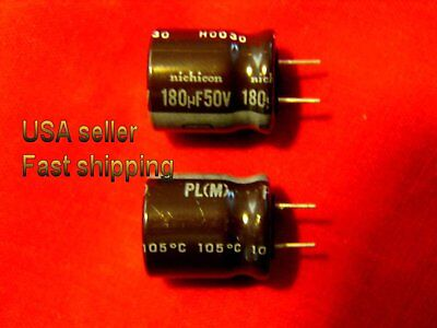 4 pcs   -   180uf 50v low ESR electrolytic capacitors