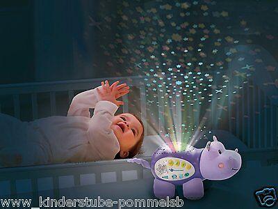 Ab 0 Monate Vtech Baby Nacht Licht + Musik Geschichten Sternenlicht Nilpferd