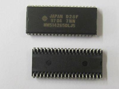 2 Stück - HM514265DLJ5 HITACHI SOJ40 DRAM 256K x 16Bit - 262,144x16-bit - 2pcs