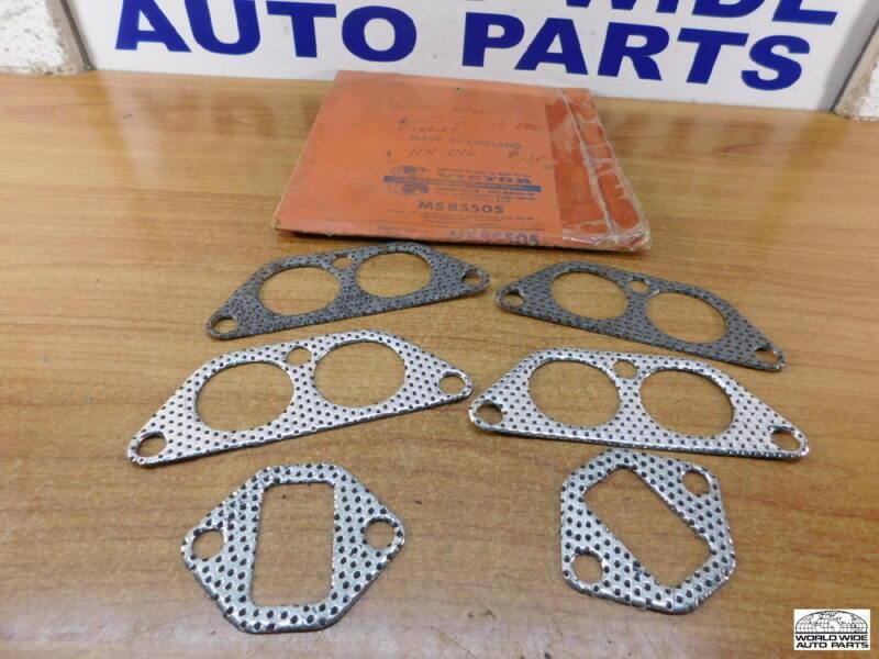 Austin Healey 100-6 BN4   Manifold Gasket Set for 2-Port Head  OLD Victor