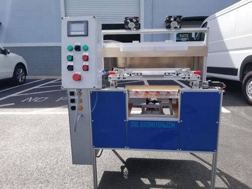 """SIBE AUTOMATION VACUUM FORMING MACHINE 12"""" X 18"""" THERMOFORMING AUTOMATIC  *"""